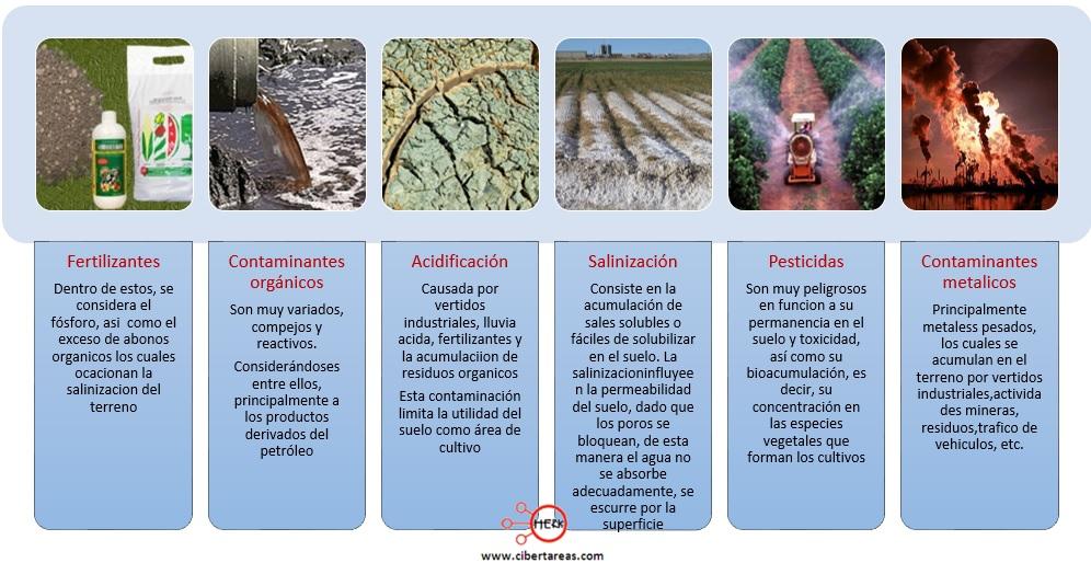 principales contaminantes del suelo quimica 2
