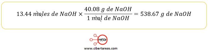relaciones masa masa quimica 2 4