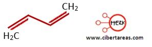 1,3-butadieno estructura