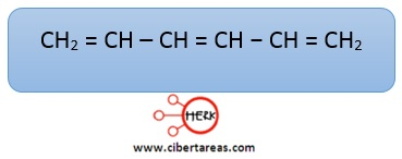 1,3,5-hexatrieno trieno conjugado