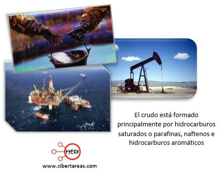 crudo petroleo elementos quimica