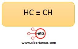 formula acetileno