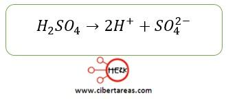 formula acido fuerte quimica