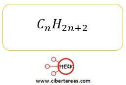 formula general de los alcanos quimica
