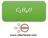 formula molecular propanol etilmetileter