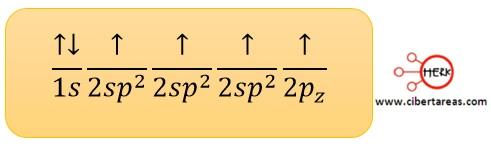 hibridacion sp2