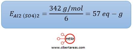 normalidad sulfato de aluminio quimica 2