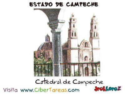 Catedral de Campechel - Estado de Campeche