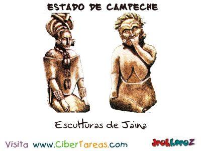 Esculturas de Jaina - Estado de Campeche