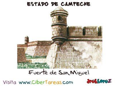 Fuerte de San Miguel - Estado de Campeche