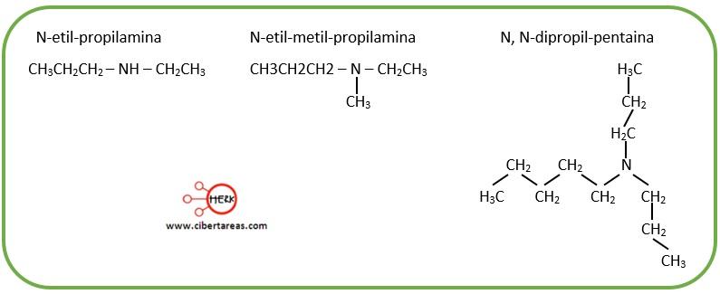 aminas primarias nomenclatura de las aminas ejemplo