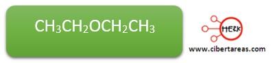 ejemplo nomenclatura eter quimica