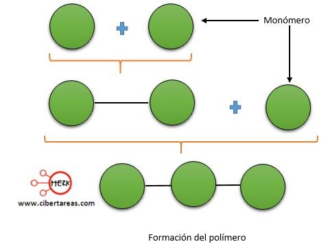 formacion del polimero quimica