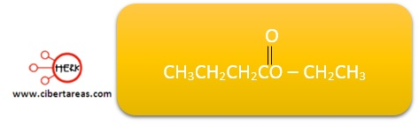 nomenclatura de los esteres ejemplo quimica