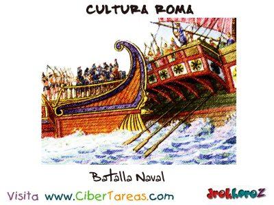 Batalla Naval - Cultura Romana