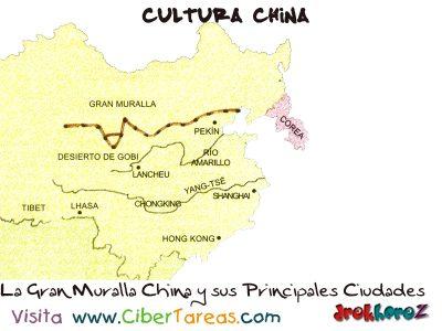La Gran Muralla China y sus Principales Ciudades - Cultura China