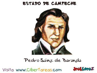 Pedro Sainz de Baranda - Estado de Campeche