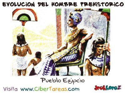 Pueblo Egipcio - Hombre Prehistorico