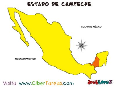 Ubicacion y Especificaciones - Estado de Campeche
