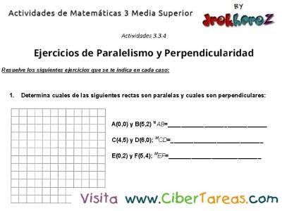 Captura de Ejercicios de Condicion de Paralelismo y Perpendicularidad -actividades de matematicas 3 media superior-2