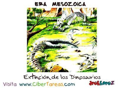 Extincion de los Dinosaurios - Era Mesozoica