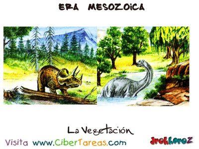 La Vegetacion - Era Mesozoica