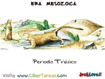 Periodo Triasico - Era Mesozoica