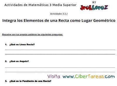 captura de elementos de una recta 1 - Actividades de Matematicas 3 -Media Superior