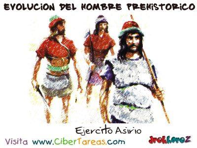Ejercito Asirio - Evolucion del Hombre Primitivo