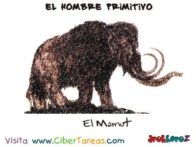 el-mamut-y-el-hombre-primitivo