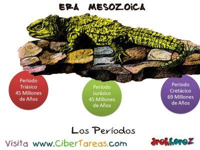 los-periodos-era-mesozoica