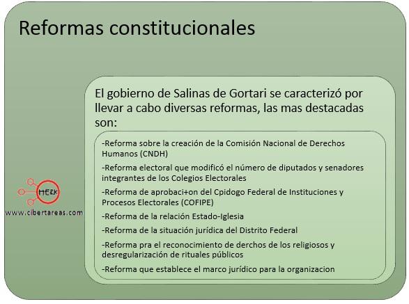 reformas-constitucionales-en-el-periodo-de-salinas-de-gortari