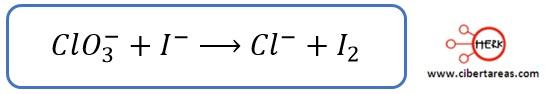 Aplicación del método de ion-electrón cuando la reacción se desarrolla en disolución acida – Temas Selectos de Química 2 0