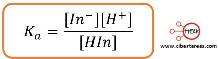 Indicadores acido-base – Temas Selectos de Química 2 2