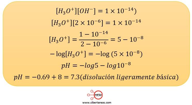 ejemplo de como calcular el ph temas selectos de quimica