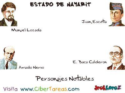 Personajes Notables – Estado de Nayarit 0