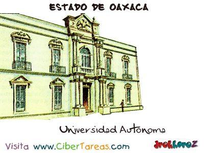 Universidad – Estado de Oaxaca 0