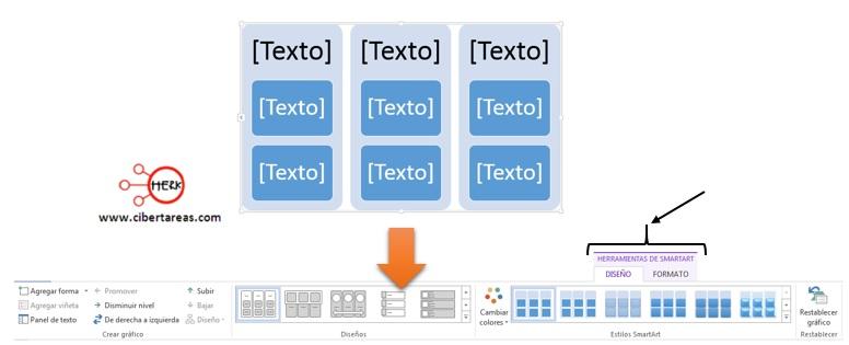 Insertar un gráfico SmartArt en Word 2013 – Resguardar la información y elaboración de documentos electrónicos 4