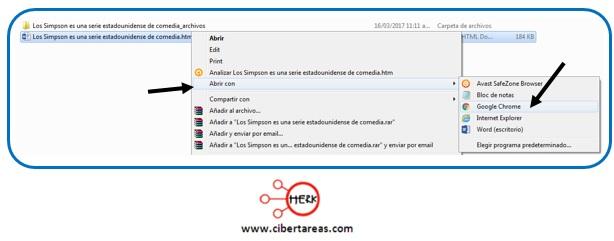 Como crear un página web en Word 2013 – Resguardar la información y elaboración de documentos electrónicos 5