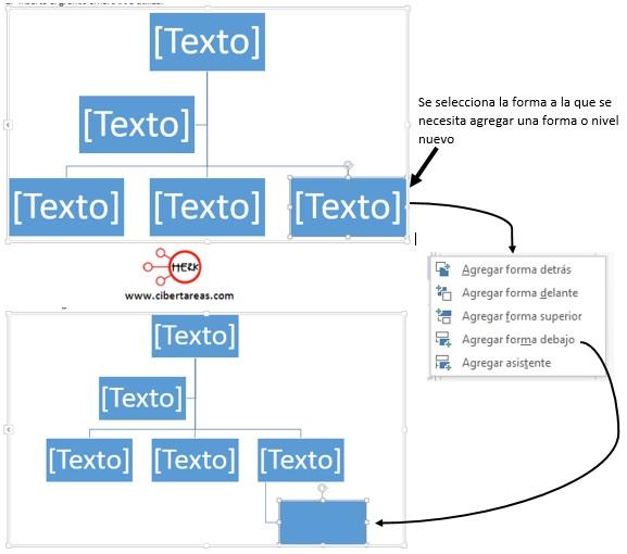Insertar un gráfico SmartArt en Word 2013 – Resguardar la información y elaboración de documentos electrónicos 10