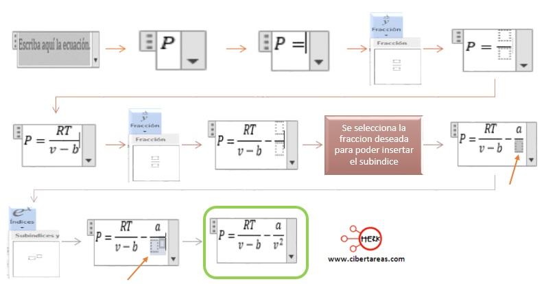 Insertar ecuaciones en Word 2013 – Resguardar la información y elaboración de documentos electrónicos 6