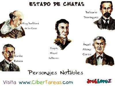 Personajes Notables – Estado de Chiapas 0