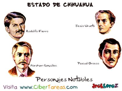 Personajes Notables – Estado de Chihuahua 0