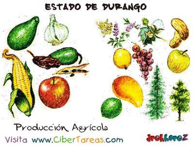 Producción Agrícola – Estado de Durango 0