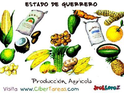 Producción Agrícola – Estado de Guerrero 0