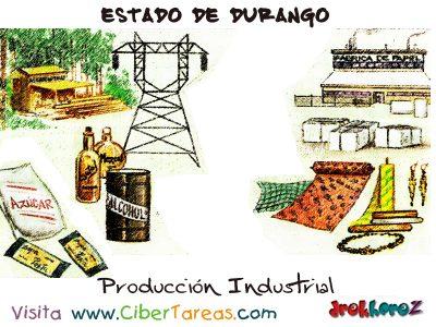 Producción Industrial – Estado de Durango 0