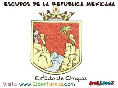 Escudo de Chiapas – Escudos de la República Mexicana 0