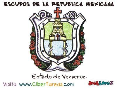 Escudo de Veracruz de Ignacio de la Llave – Escudos de la República Mexicana 0