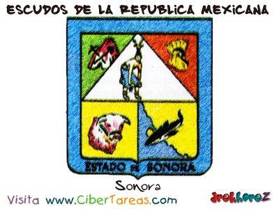 Escudo de Sonora – Escudos de la República Mexicana 0