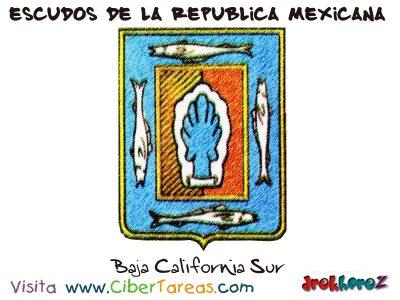 Escudo de Baja California Sur – Escudos de la República Mexicana 0